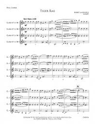 Tiger Rag - Clarinet Quartet - CHB0006 - Preview